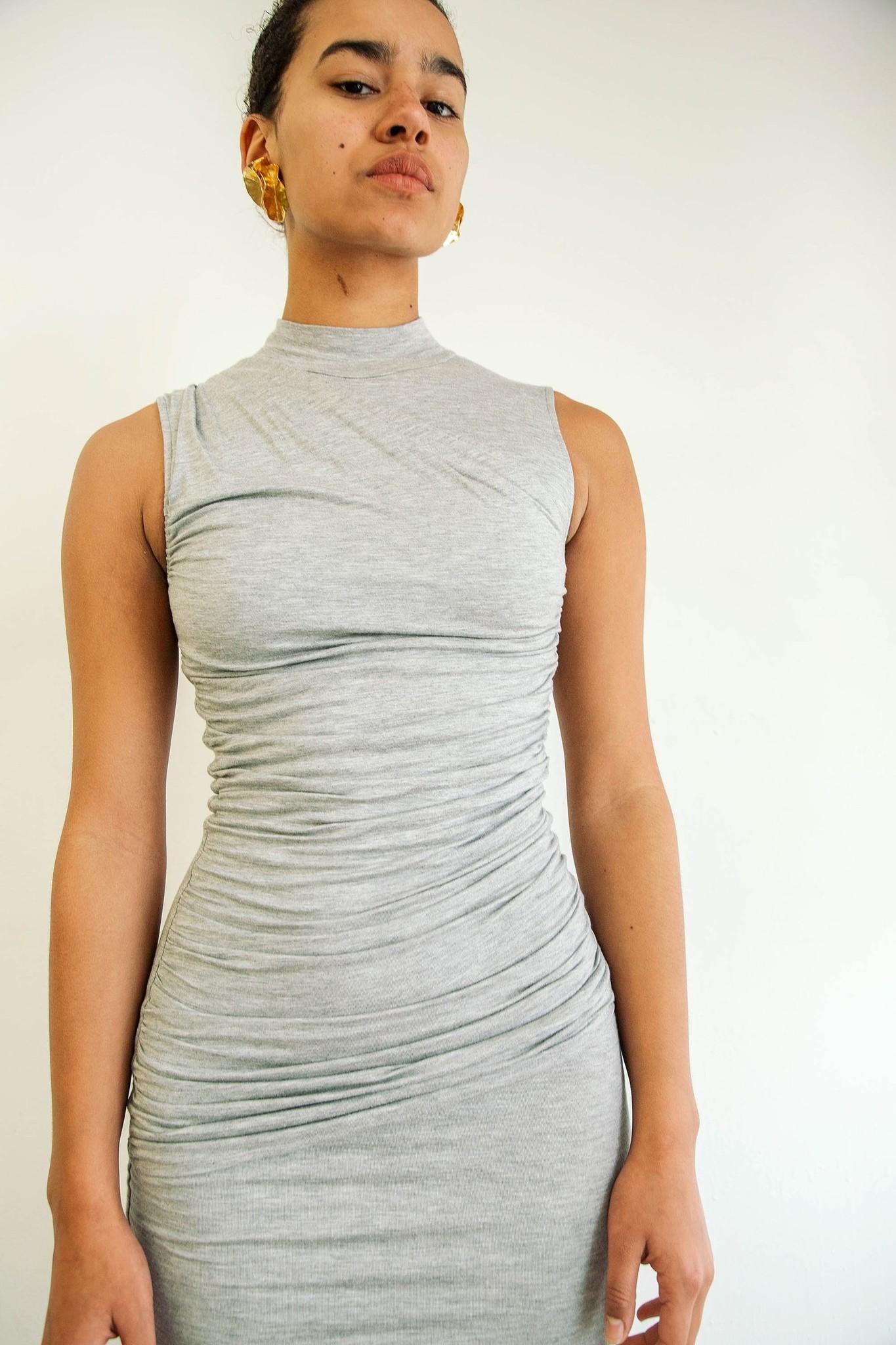 Line by K Heather Grey Ayme Dress