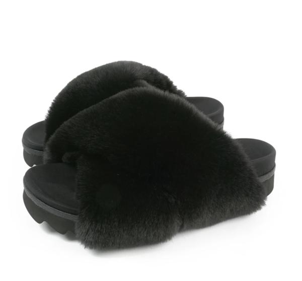 ROAM Roam Cloud Sandals in Black
