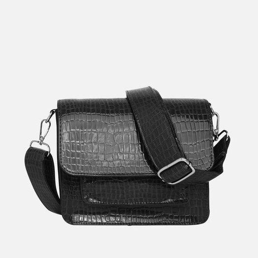 Hvisk Cayman Pocket Bag, Black