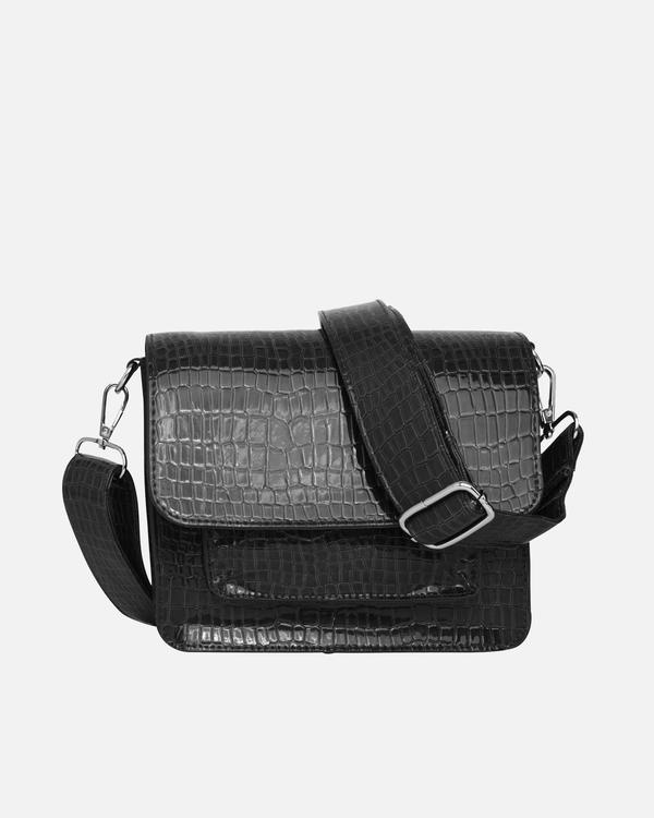 Hvisk Cayman Pocket Bag, Black