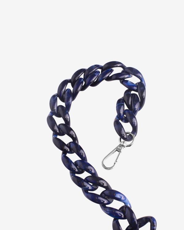 Hvisk Resin Chain Handle, Midnight Blue