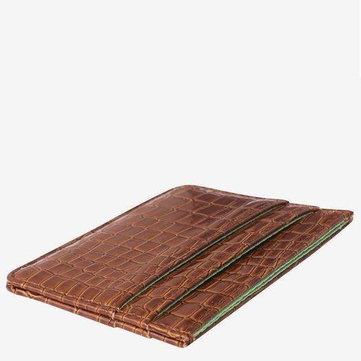 Hvisk Card Holder Chocolate Vegan Croc