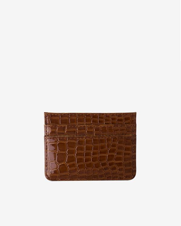 Hvisk Card Holder Chocolate Vegan Croc
