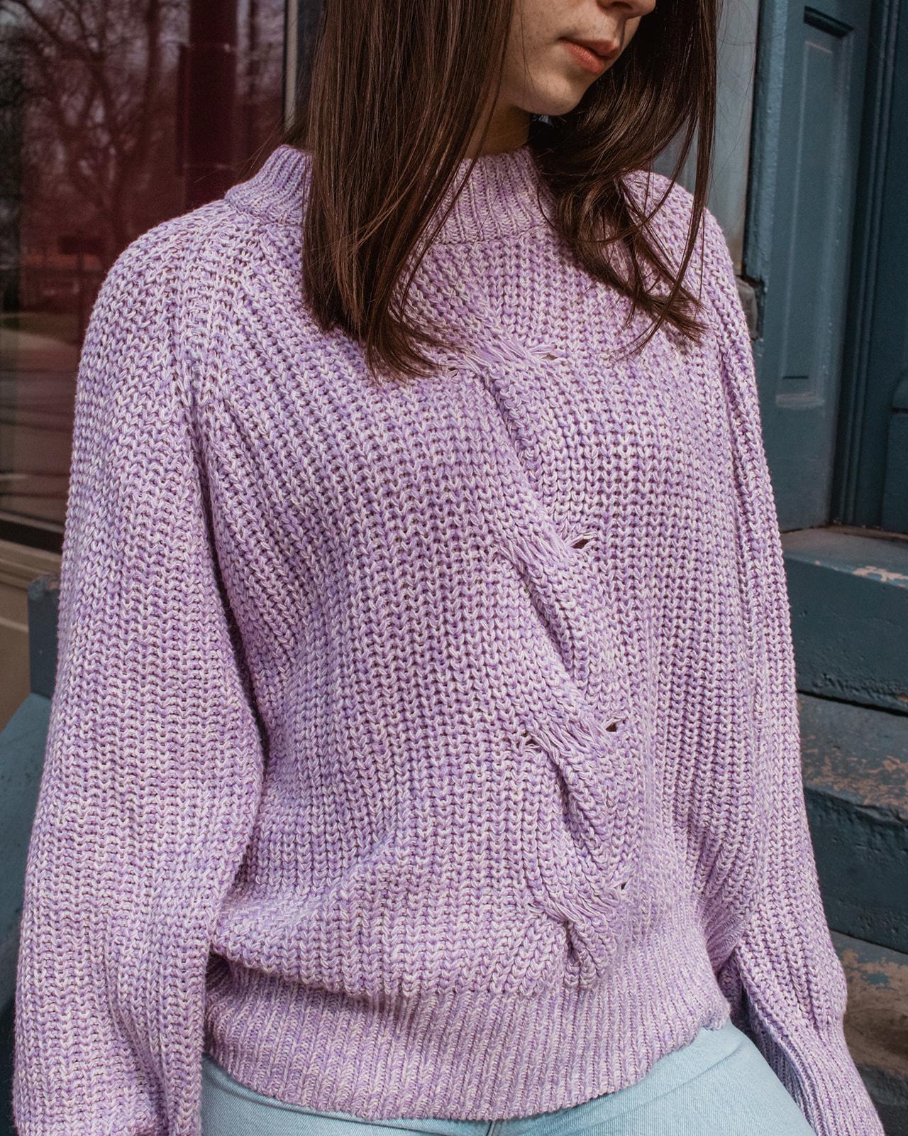 Baum Und Pferdgarten Lavender Mix Sweater, Carreen