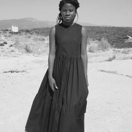 By Signe Saga Sleeveless Dress, Black