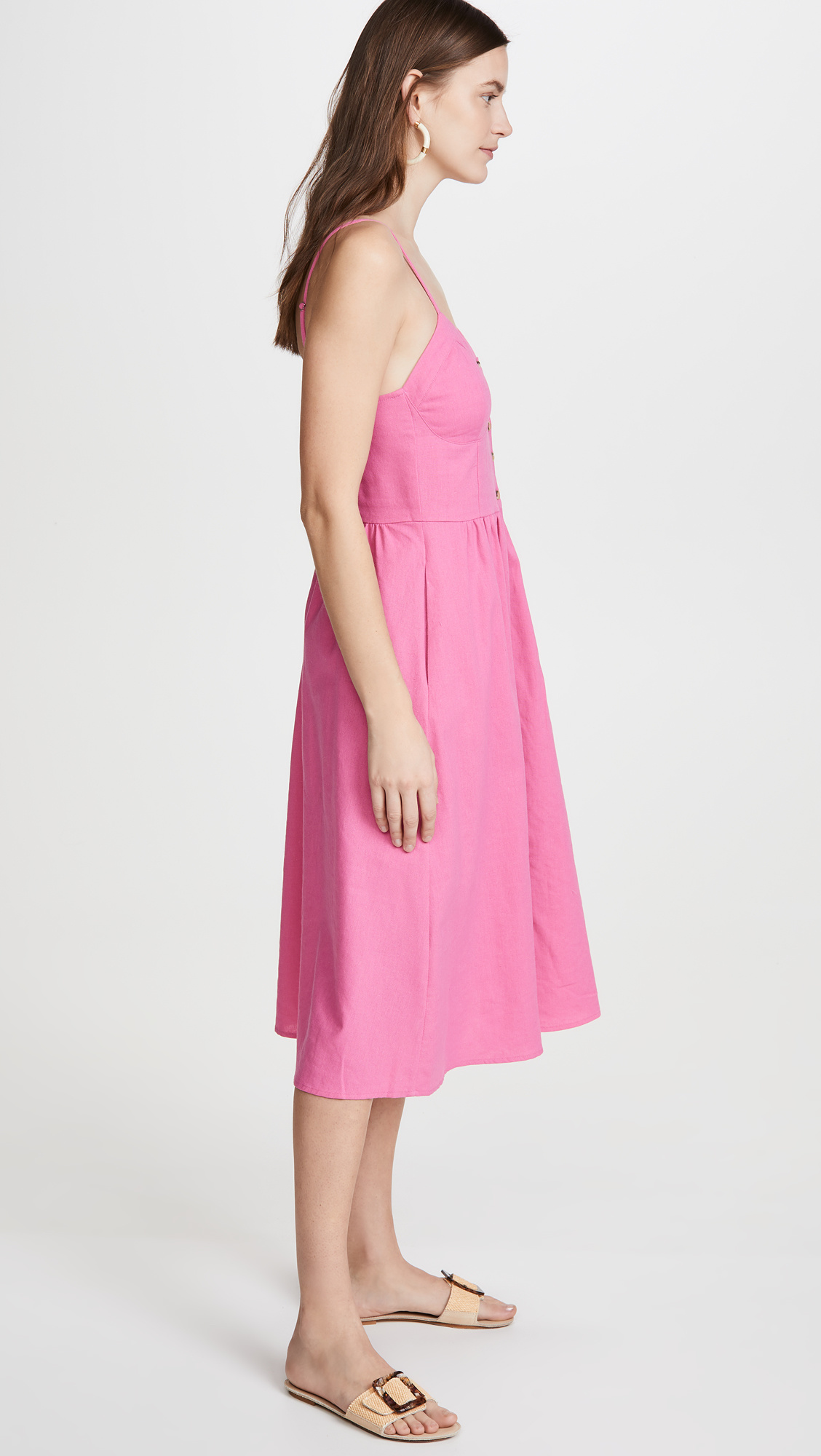 Rollas Eve Dress, Hot Pink