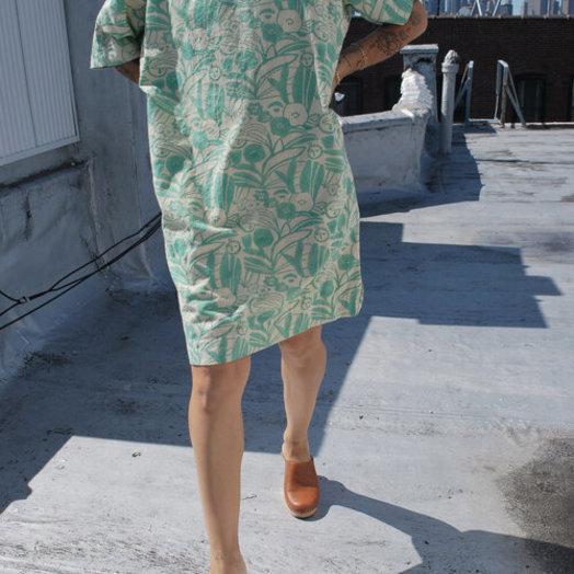 PO-EM Burrow Dress in Camo