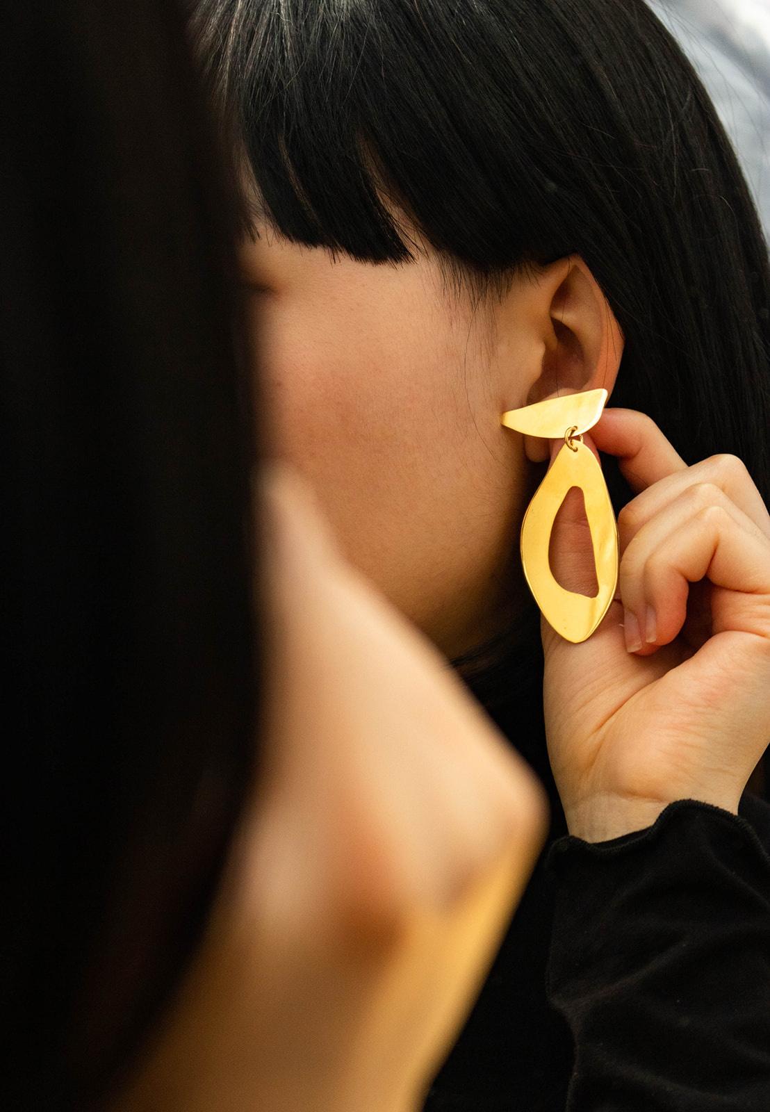 Levens Delta Dore Gold Plated Brass