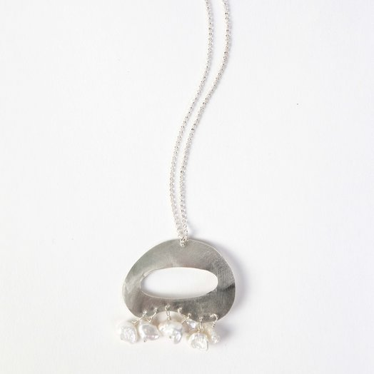 Chertova Tranquility Necklace, Sterling Silver