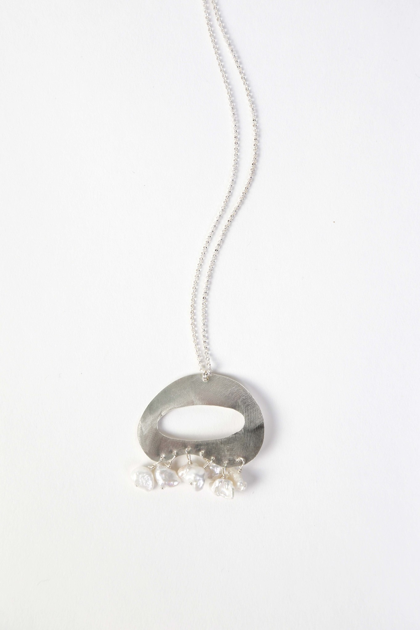 Chertova Tranquility Necklace, Sterling Silver