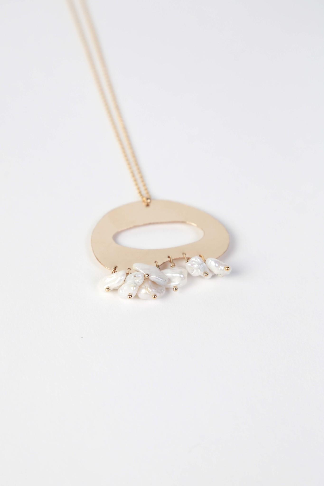 Chertova Tranquility Necklace, 14k Gold Filled