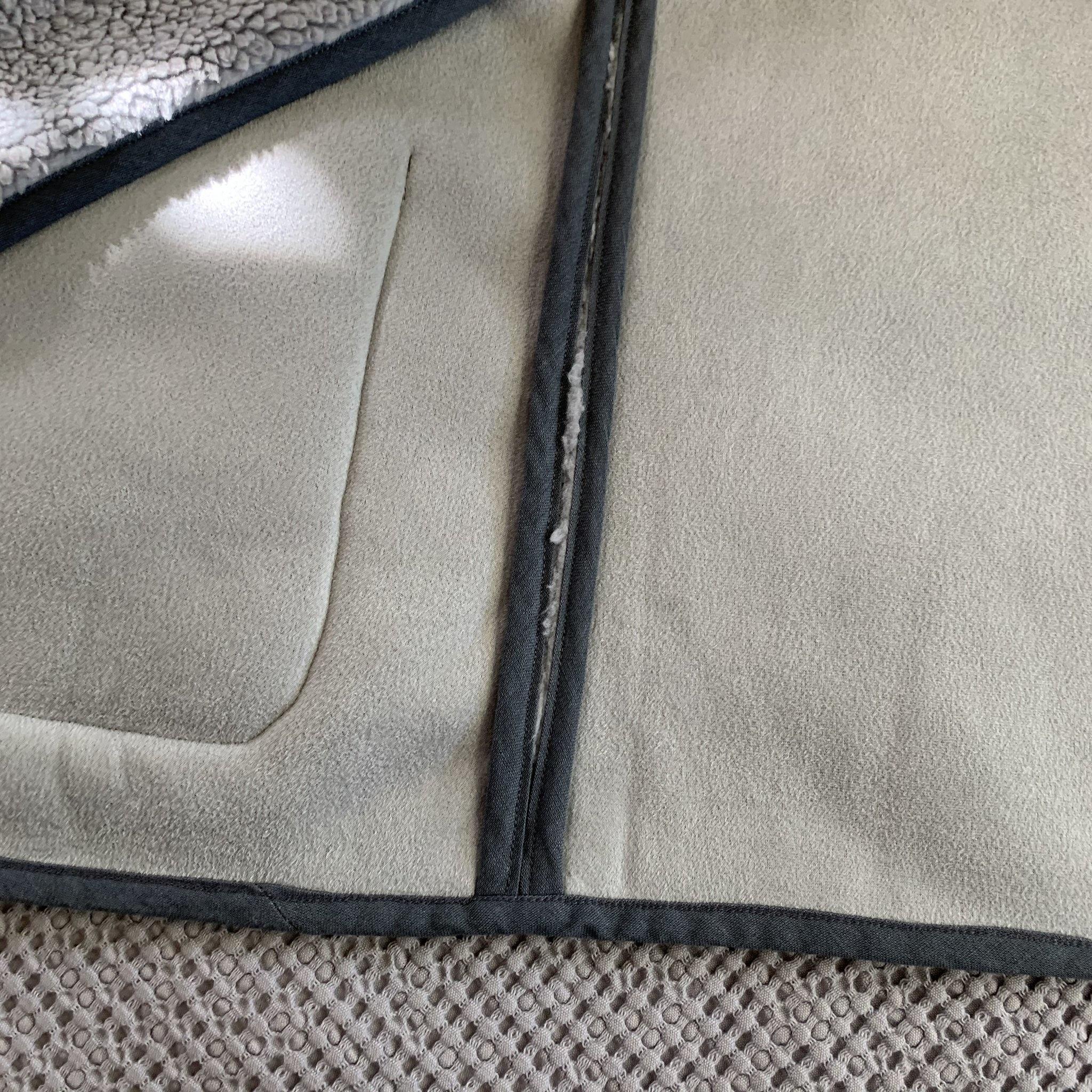 April Meets October November Vest, Grey, One Size Fits All