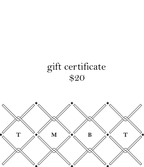 Gift Certificate $20