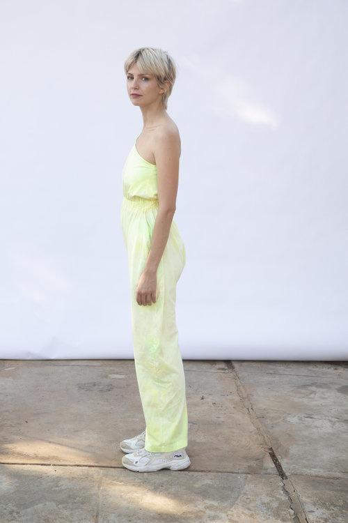 323 Lola Jumpsuit, Algae Tie Dye