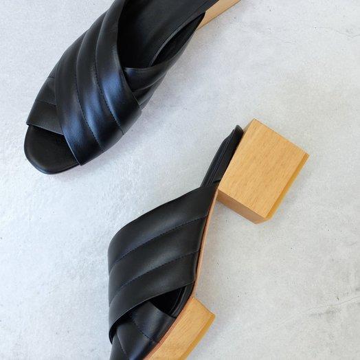 Beklina Beklina Matisse Criss-Cross Platform Slide, Black