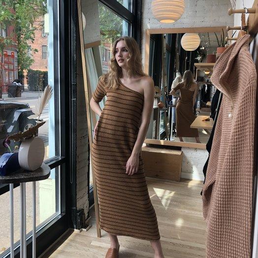 Rita Row One Shoulder Dress, 1556VE