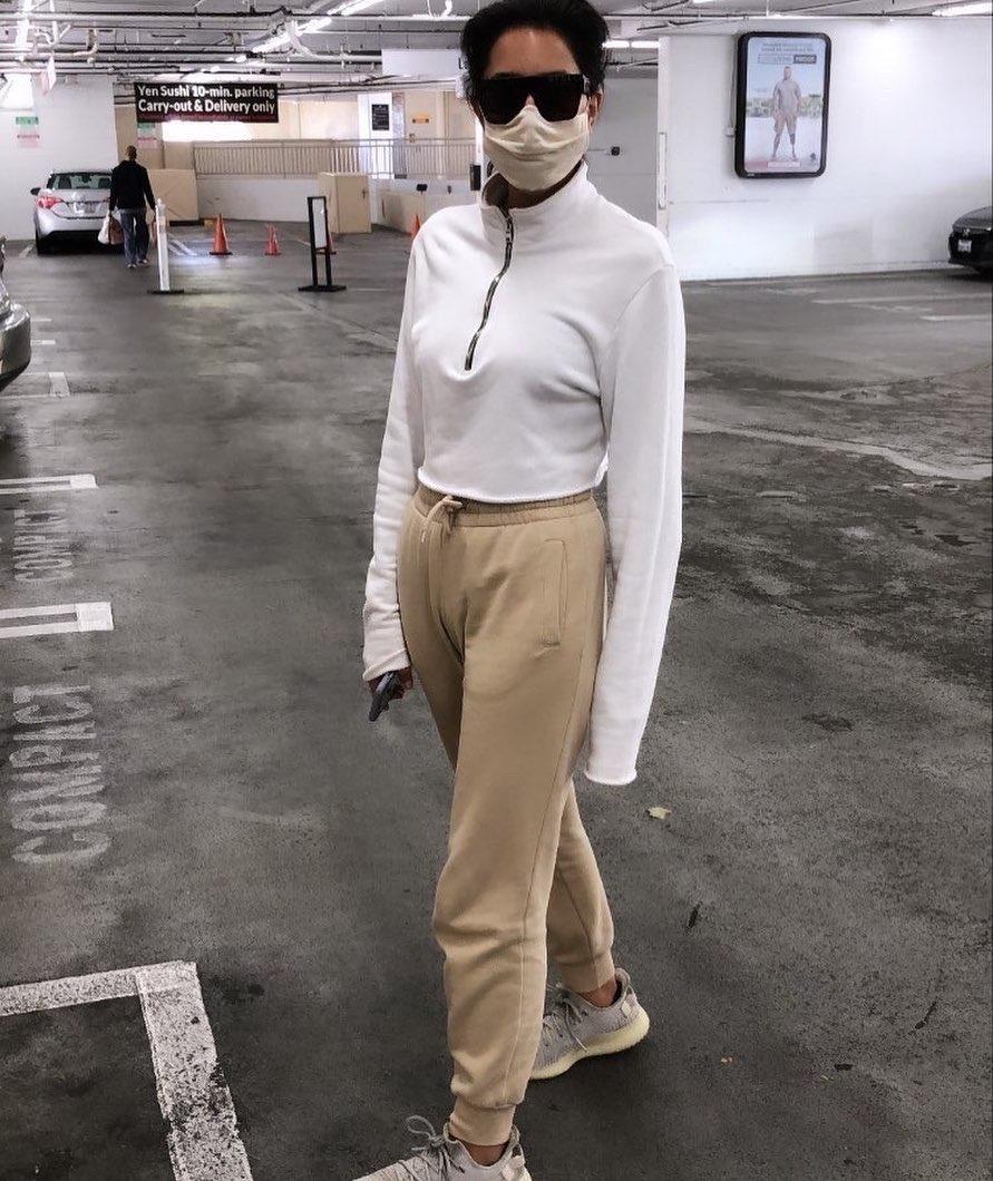 American Mask Project 2 Masks In Melange Grey, Comfortable & Washable