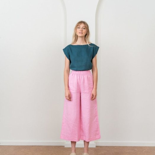 Tribe Alive Every day Crop Pant, Orchid