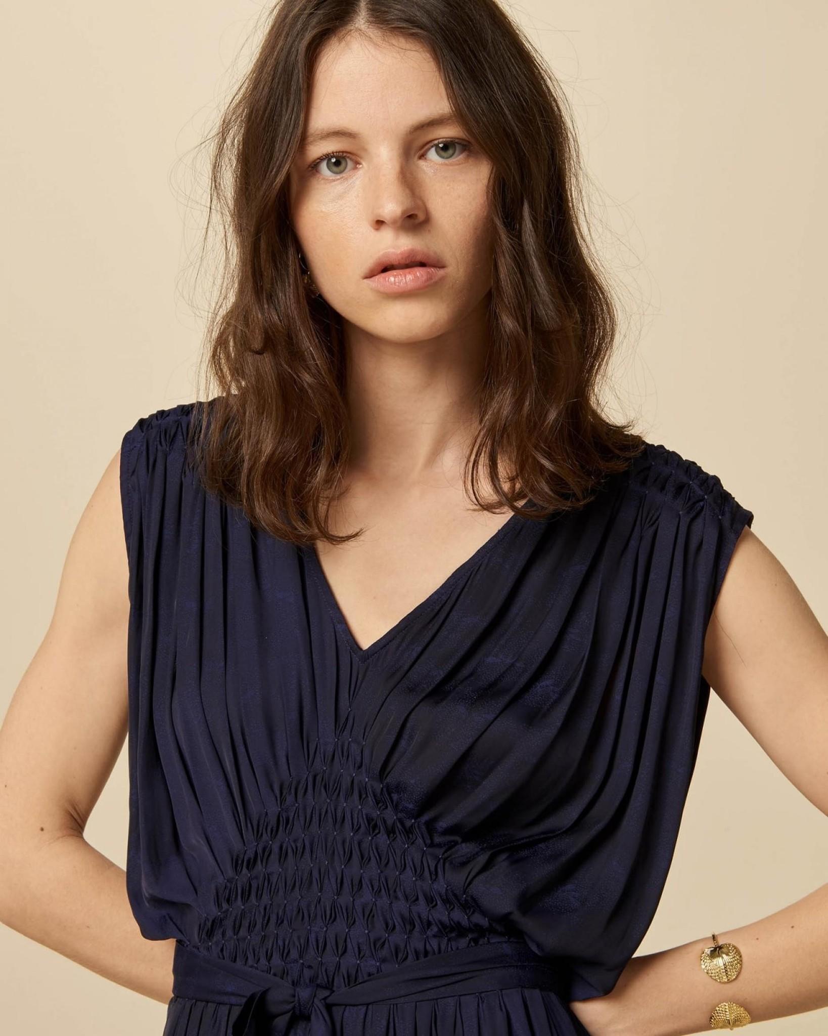 Sessun Ava Dress, Indigo