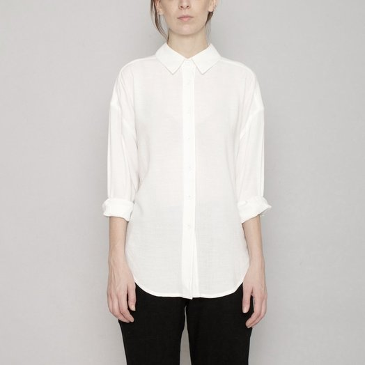 7115 by SZEKI Signature Dolman Shirt, Original, Off White