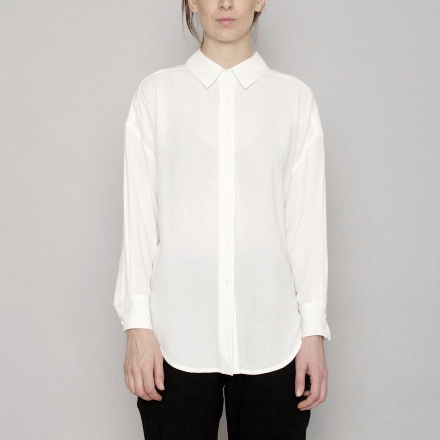 7115 by SZEKI Signature Dolman Shirt, Original, Off White