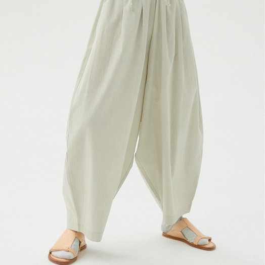 Monica Cordera Maxi Pants, Pale Grey, ONE SIZE FITS ALL