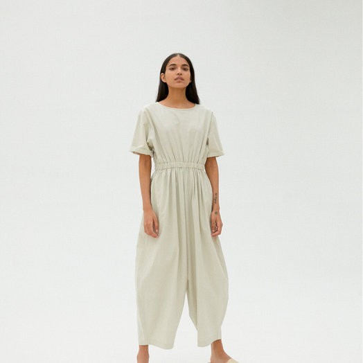 Monica Cordera Jumpsuit Pale Grey, ONE SIZE FITS ALL