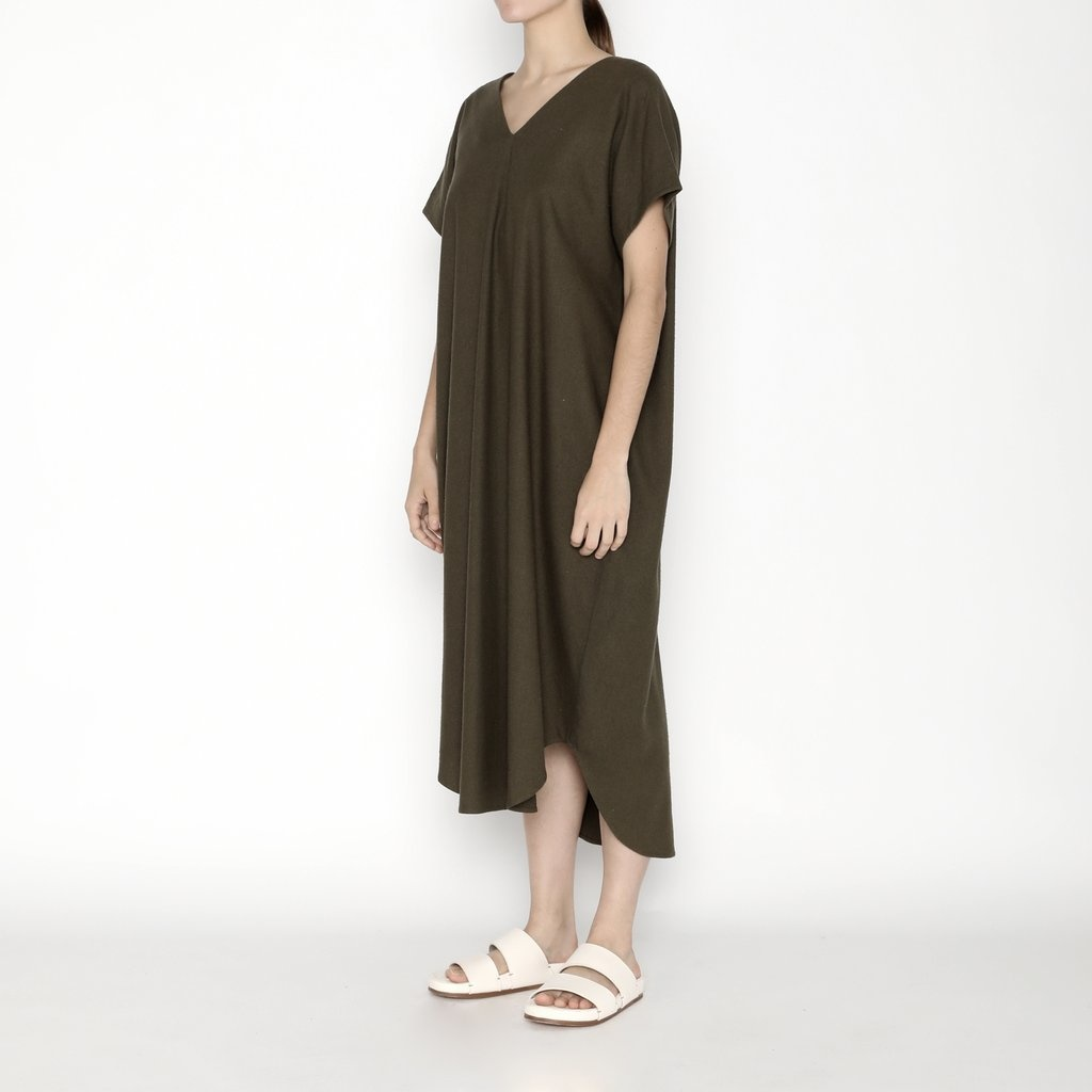 7115 by SZEKI Signature T-shirt Reversible Maxi 2020, Olive, ONE SIZE FITS ALL