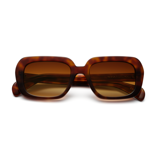 Chimi Voyage Rectangle Sunglasses in Maple