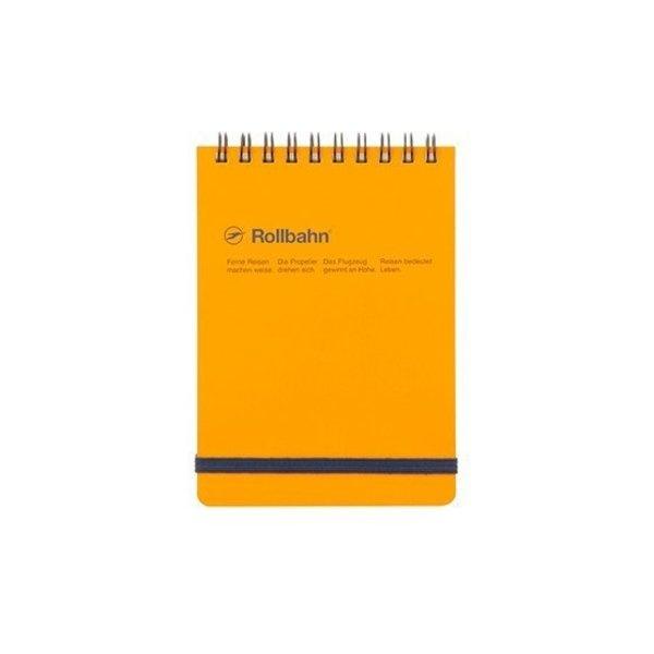 "Delfonics Rollbahn Spiral Flip Memo in Yellow, Flip (4 X 6"")"
