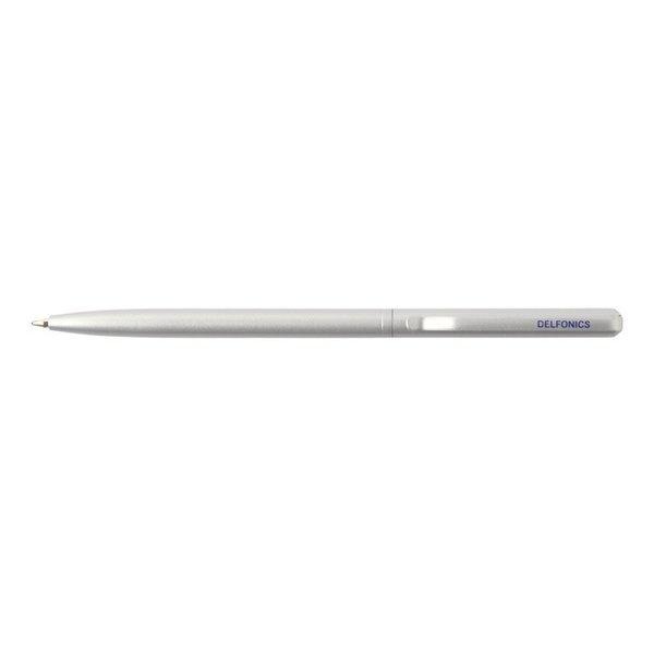 Delfonics Rollbahn Legend Retractable Ball Pen in Silver