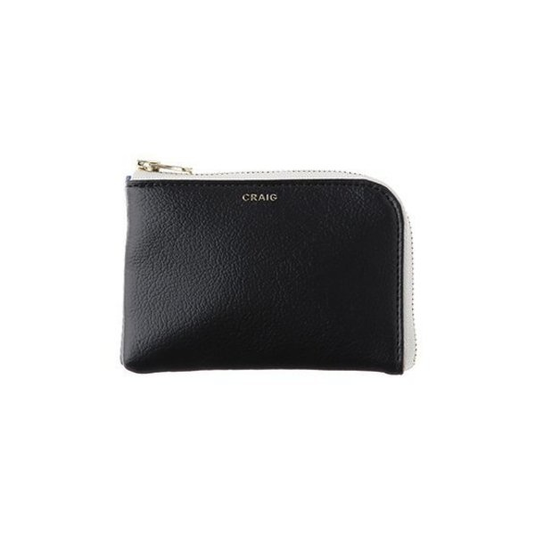 Delfonics Craig Half Zip Case in Black