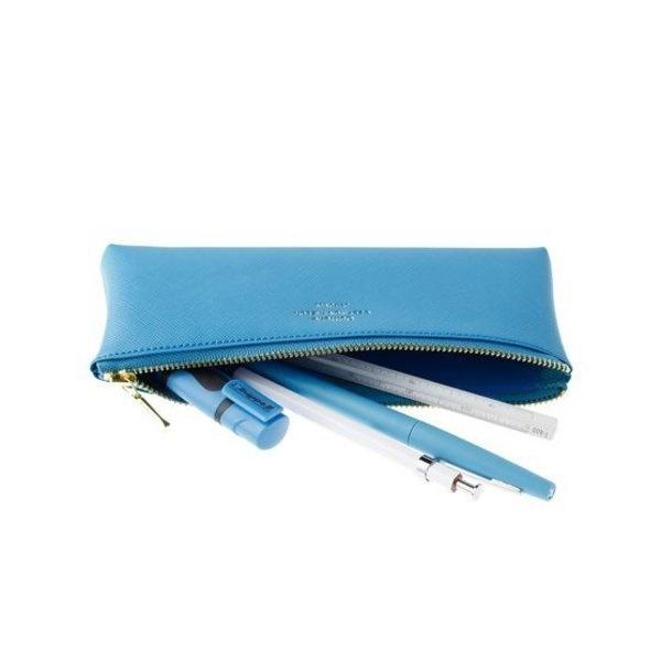 Delfonics Quitterie Flat Pen Case in Greige