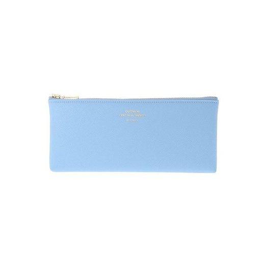 Delfonics Quitterie Flat Pen Case in Light Blue