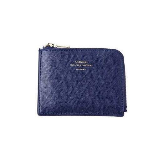Delfonics Quitterie Half-Zip Case (Wallet) in Dark Blue