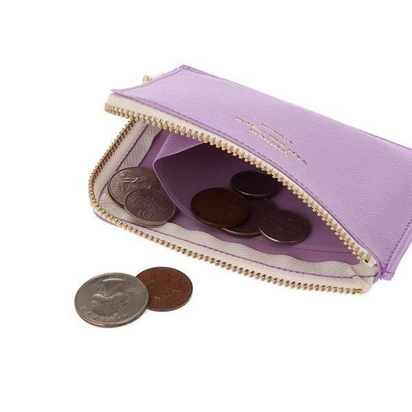 Delfonics Quitterie Half-Zip Case (Wallet) in Sky Blue