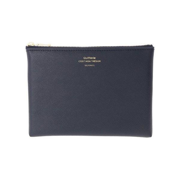 Delfonics Quitterie Medium Pouch in Dark Blue