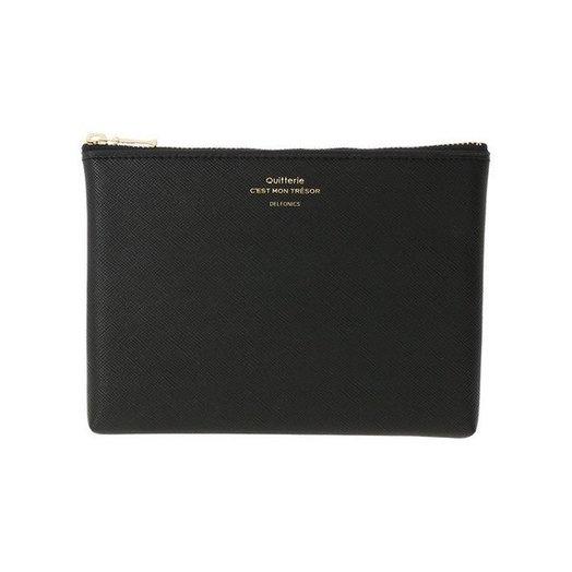 Delfonics Quitterie Medium Pouch in Black