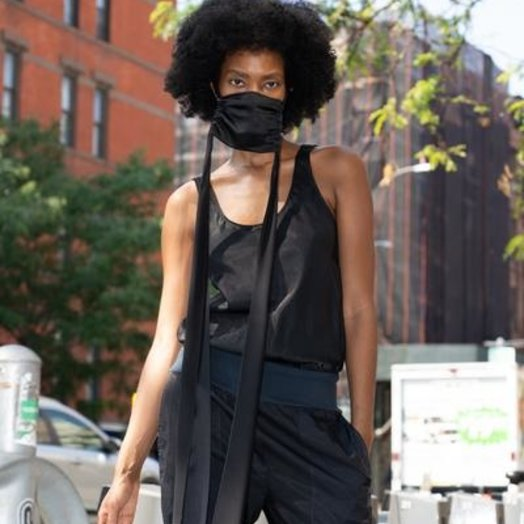 KES NYC The Dreamer Face Mask in Black