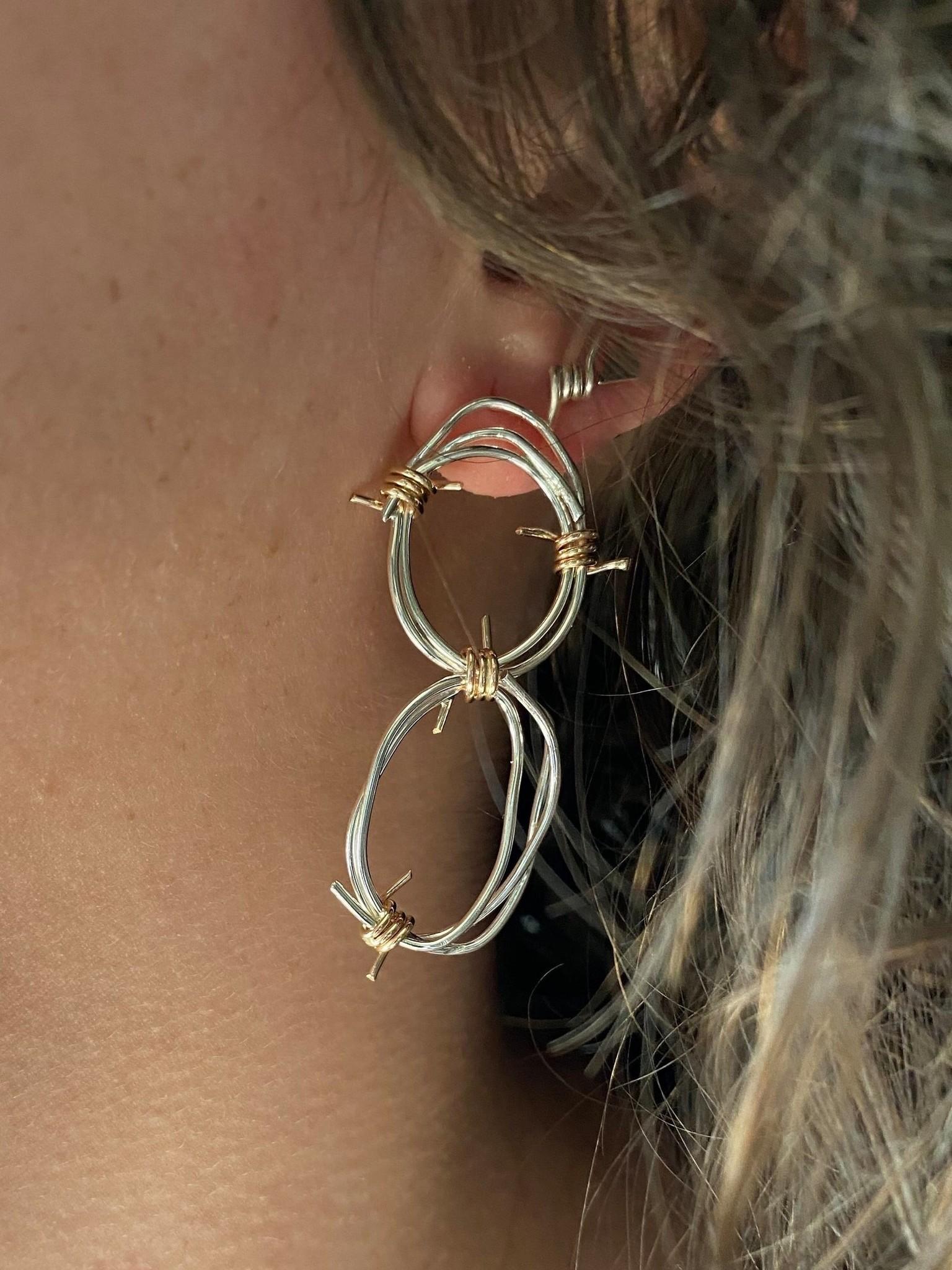 Chertova Double Tangled Barbed Hoops