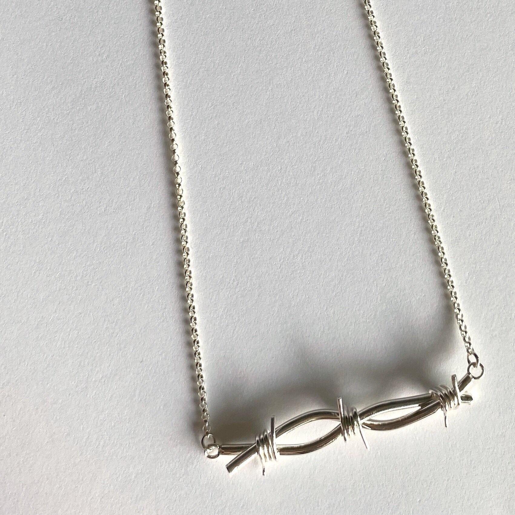 Chertova Barbed Wire Necklace