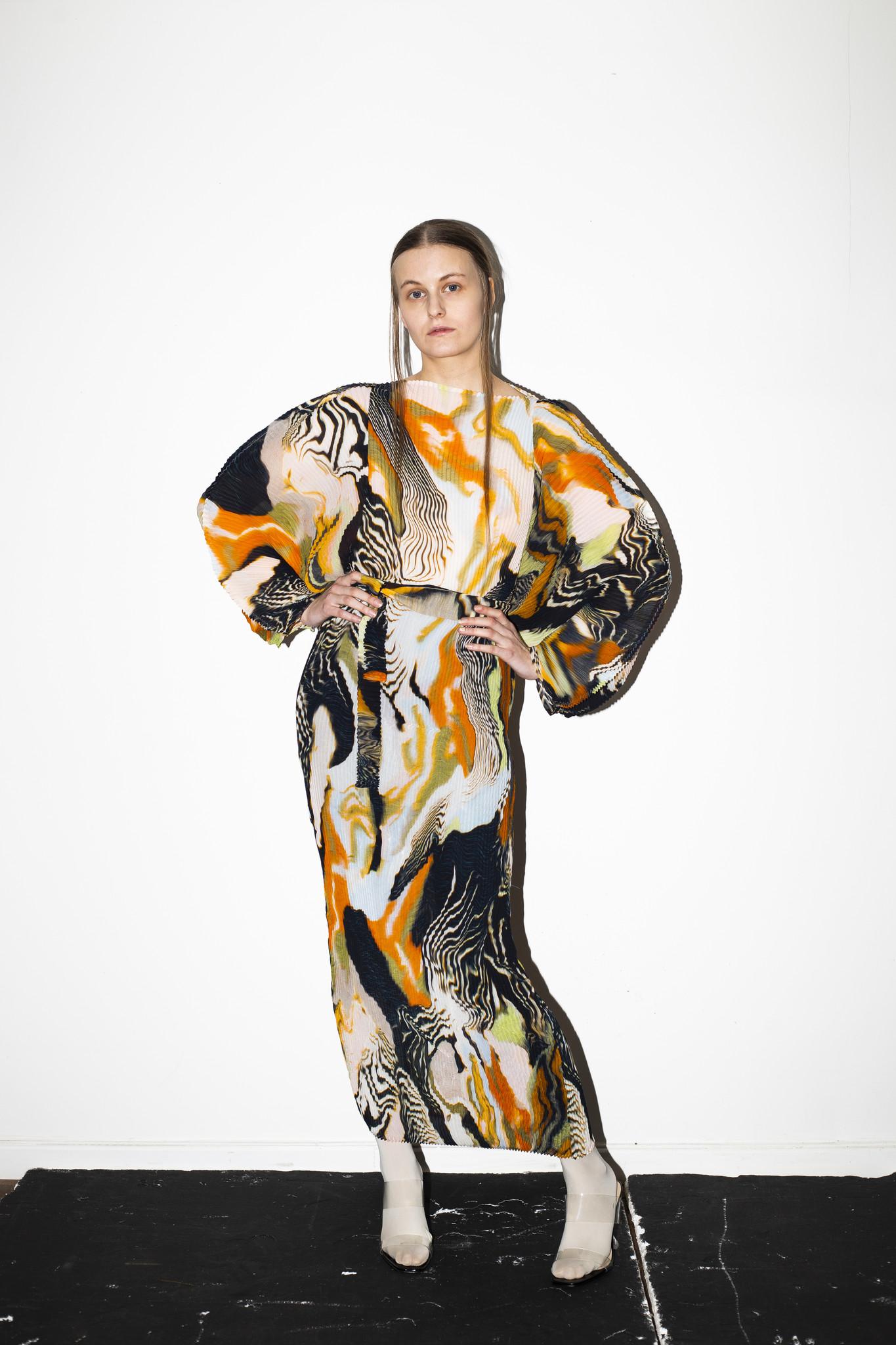 Julia Heuer Ramo Dress Print Cassey