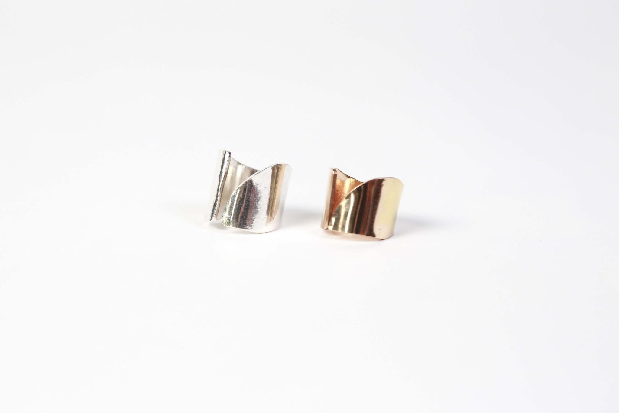 Chertova Portal Ring, 14K Gold Fill