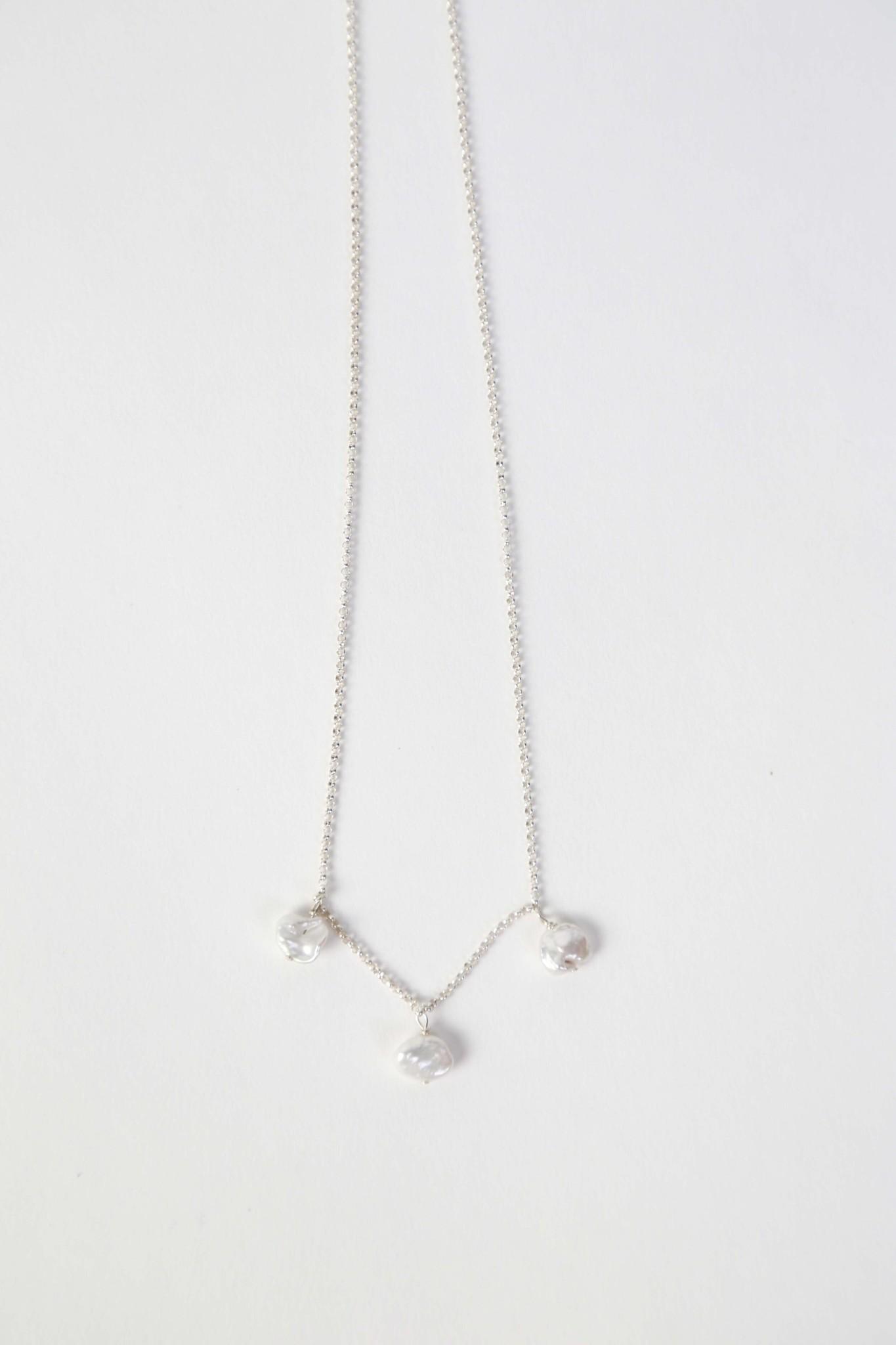 Chertova St. Agnes Necklace in Sterling Silver