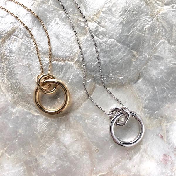 Lady Grey Link Pendant, Gold