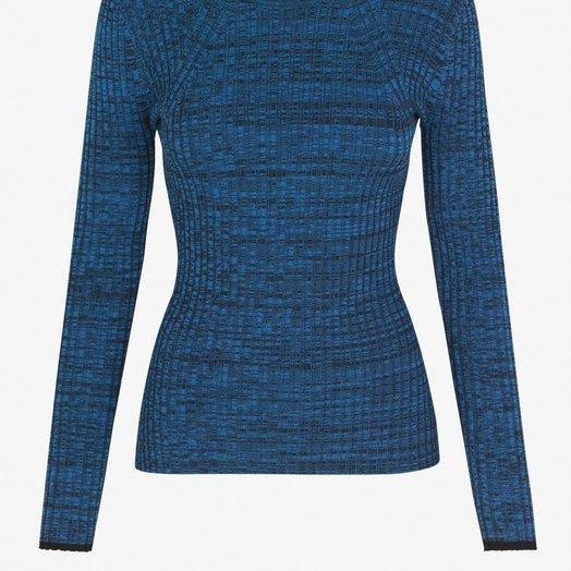 Baum Und Pferdgarten Colaine Sweater, Melange Blue