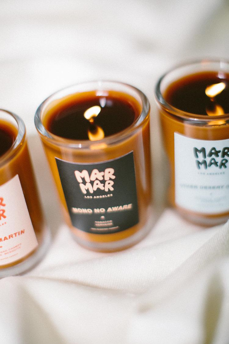 Mar Mar Mono No Aware  8 oz Candle