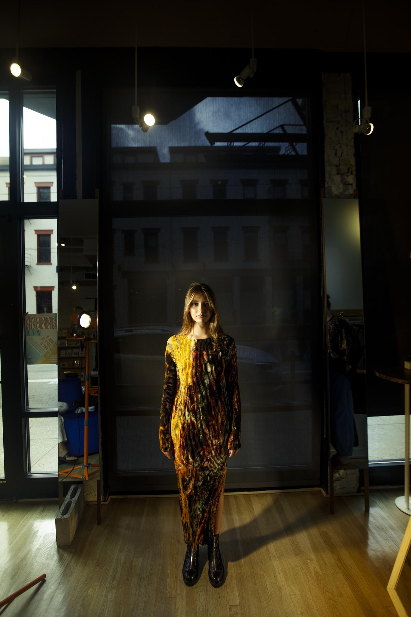 Julia Heuer Hanne Dress Print Frilli