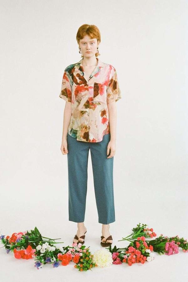 Wray Gregory Top, Painted Print
