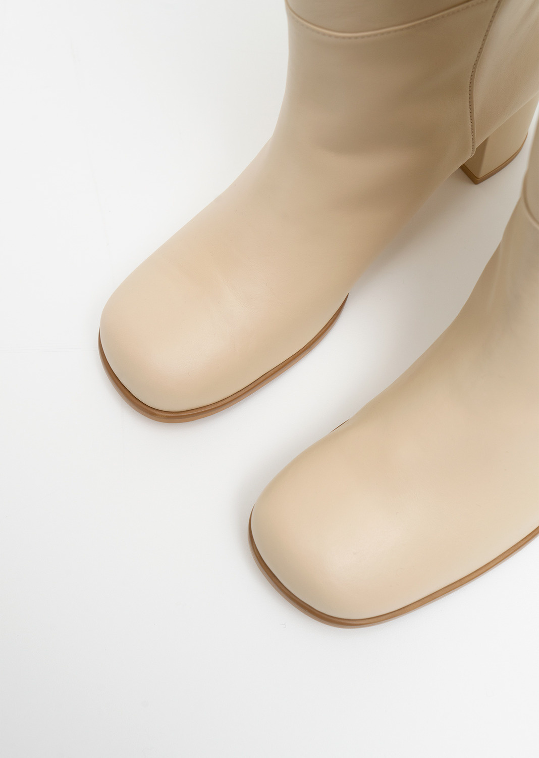 Amomento Long Boots, Beige